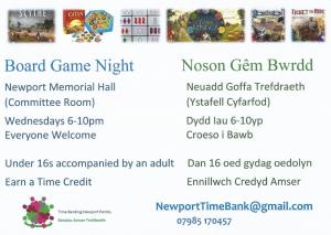 Board Games Night @ The Meeting Room | Wales | United Kingdom