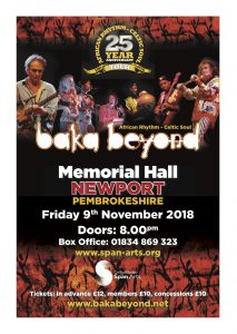 Baka Beyond @ The Main Hall | Wales | United Kingdom