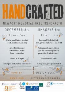 Christmas Fair: 'Hand Crafted' and Ceramic Exhibition and Sale
